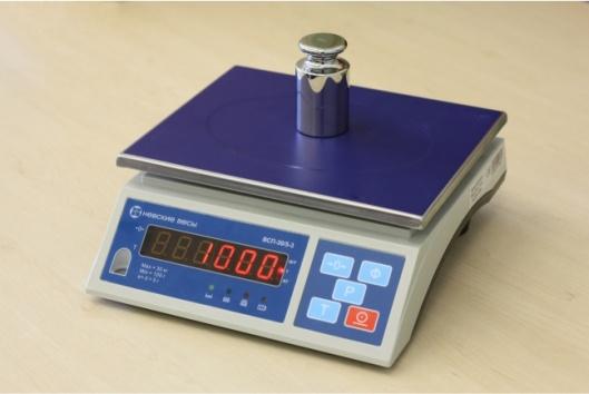 Весы фасовочные ВСП-3К - 3
