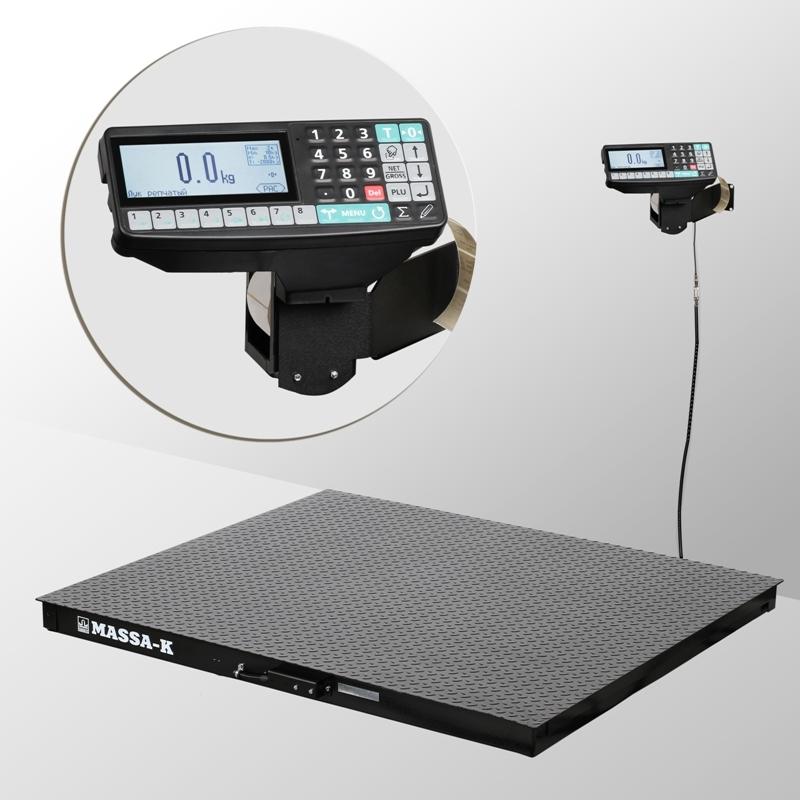 Весы платформенные с печатью этикеток 4D-PM_RP - 1