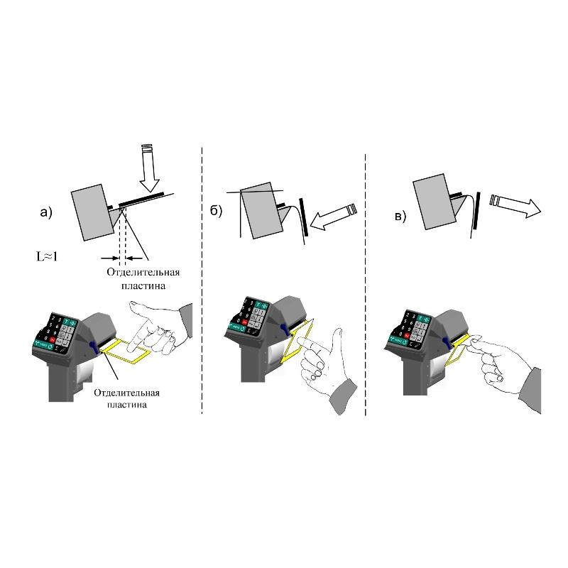 Весы стержневые с печатью этикеток 4D-B_RP - 2