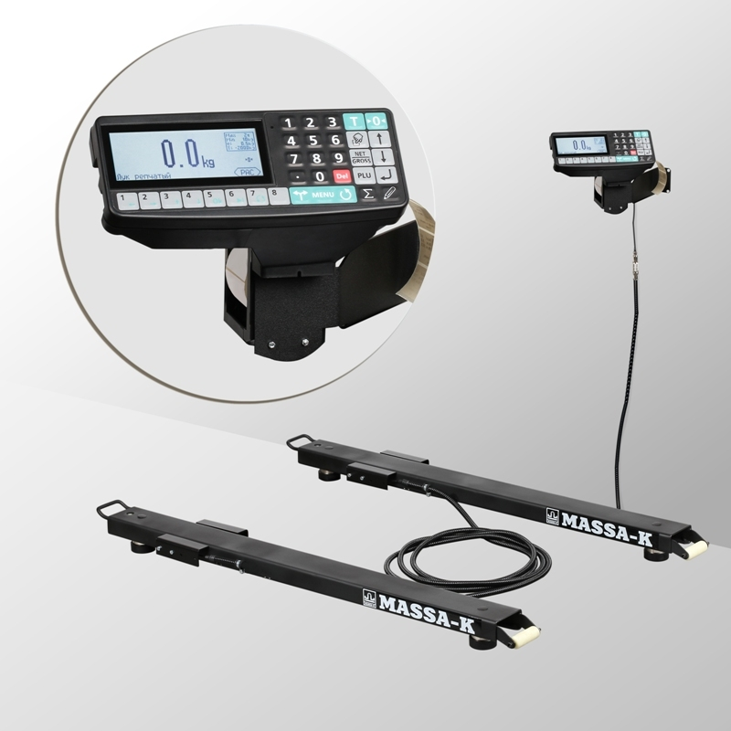 Весы стержневые с печатью этикеток 4D-B_RP - 1