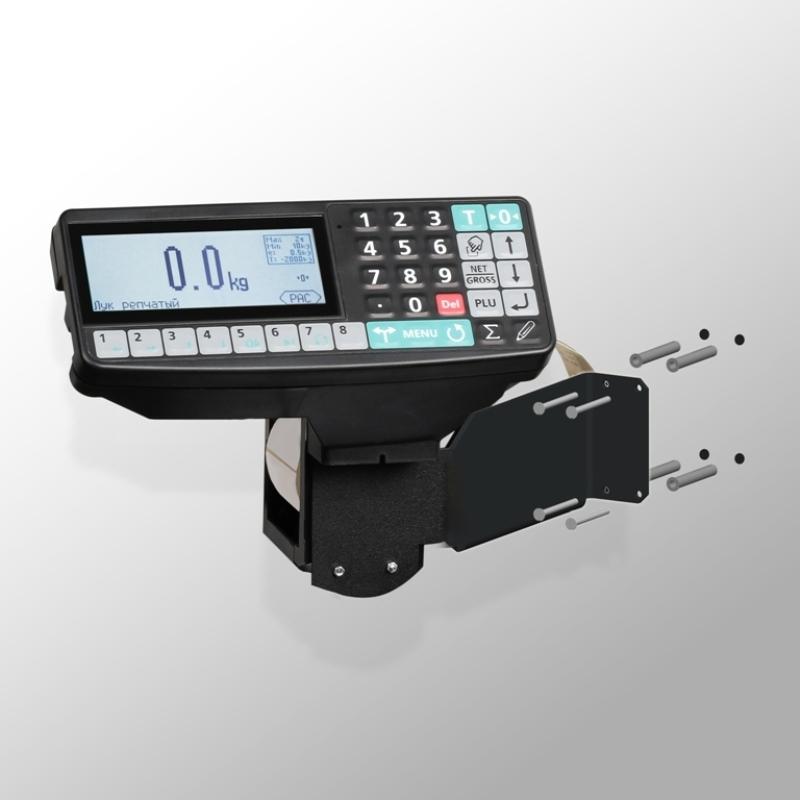 Весы низкопрофильные с печатью этикеток 4D-LM_RP - 3