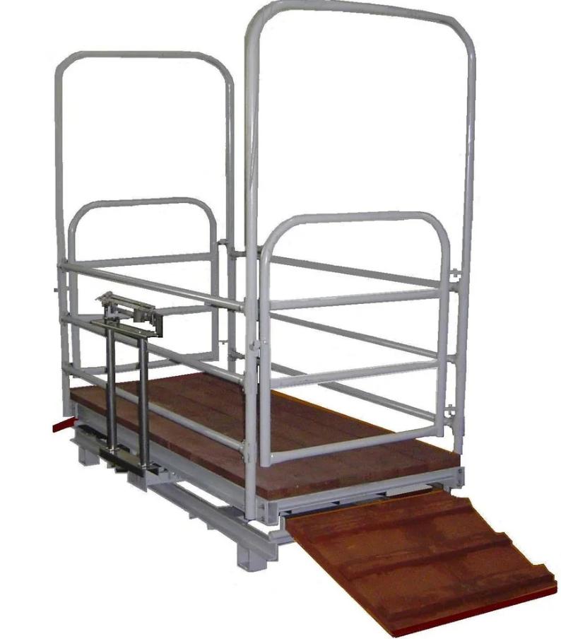 Механические весы ВТ 8908 (коровы, телята) - 1
