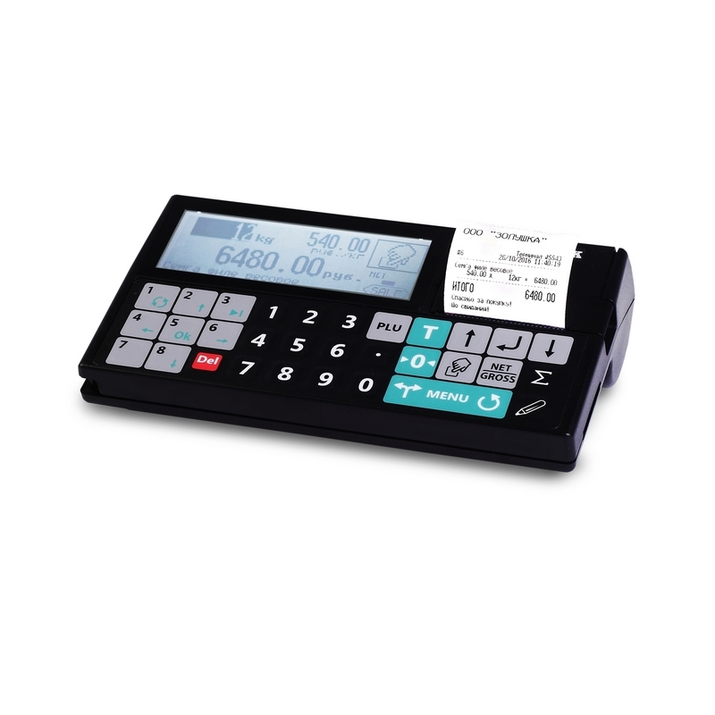 Весы платформенные с печатью чеков 4D-PM_RC - 1
