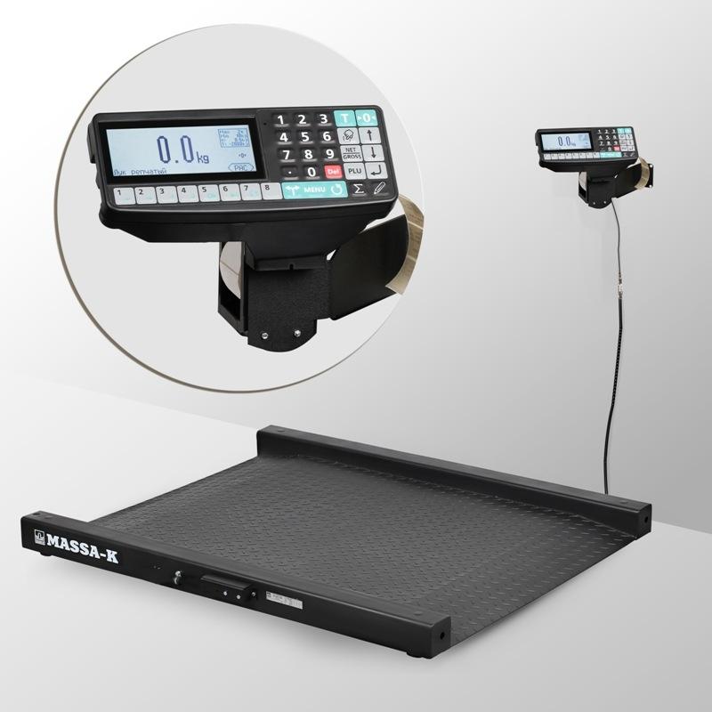 Весы низкопрофильные с печатью этикеток 4D-LM_RP - 1