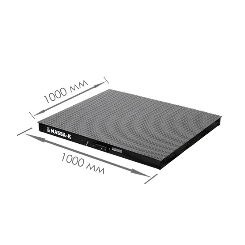 Весы платформенные с печатью чеков 4D-PM_RC - 2