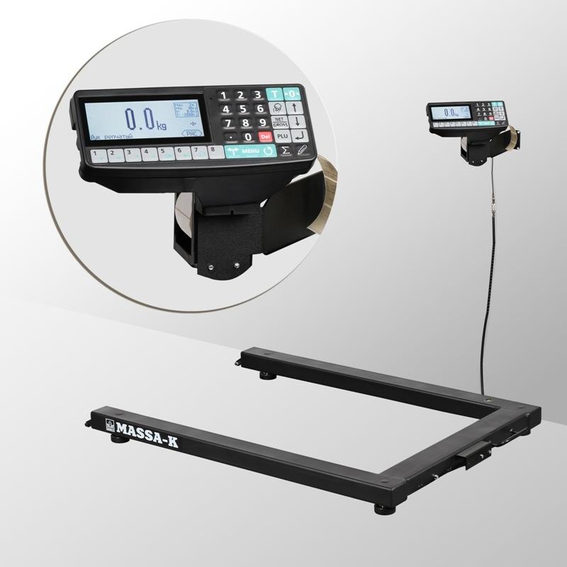 Весы паллетные с печатью этикеток 4D-U_RP - 1
